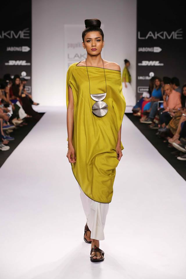 Free spirited outfits LFW