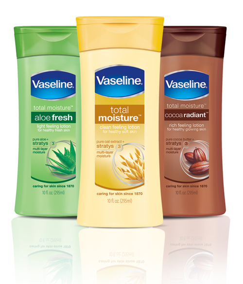 vaseline body lotion.