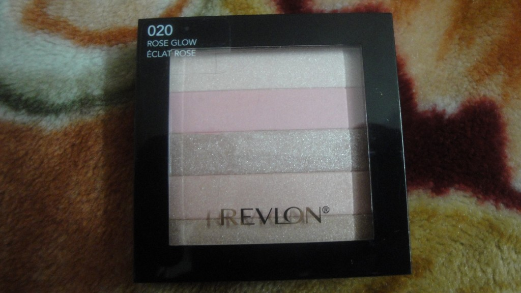 Revlon Highlighting Palette Rose Glow 02 Review