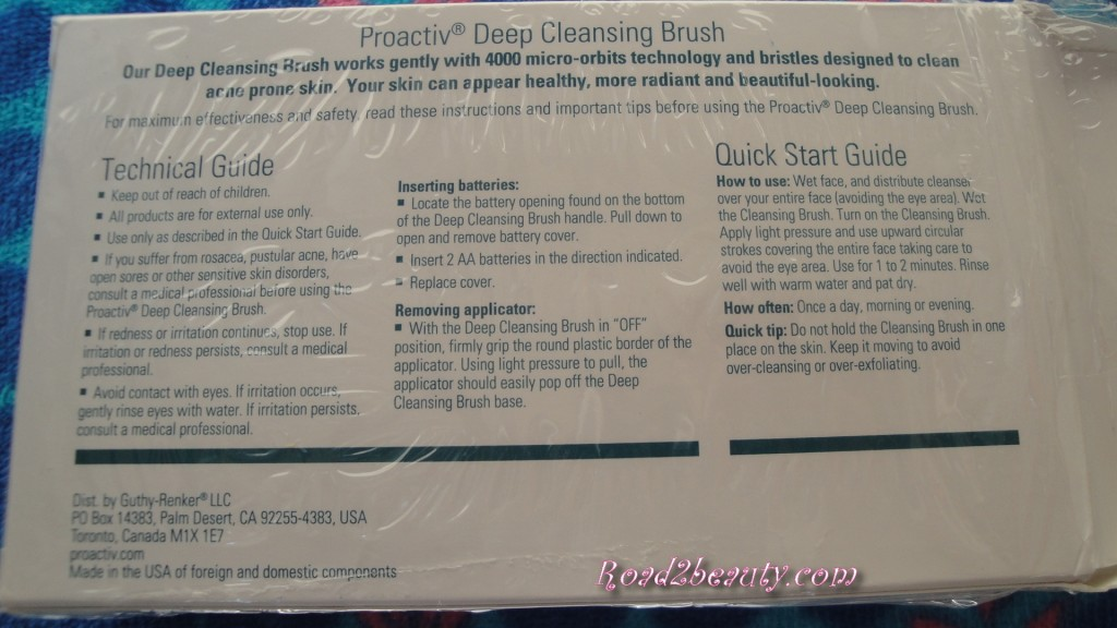 Proactiv Facial Cleansing Brush - My New Beauty Routine