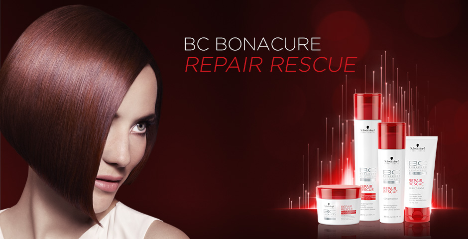 Giveaway Contest - Win Schwarzkopf BC Repair Rescue Shampoo