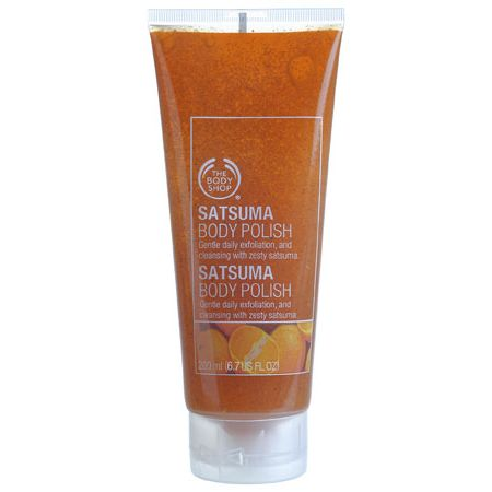 The Body Shop Satsuma Body Polish Review