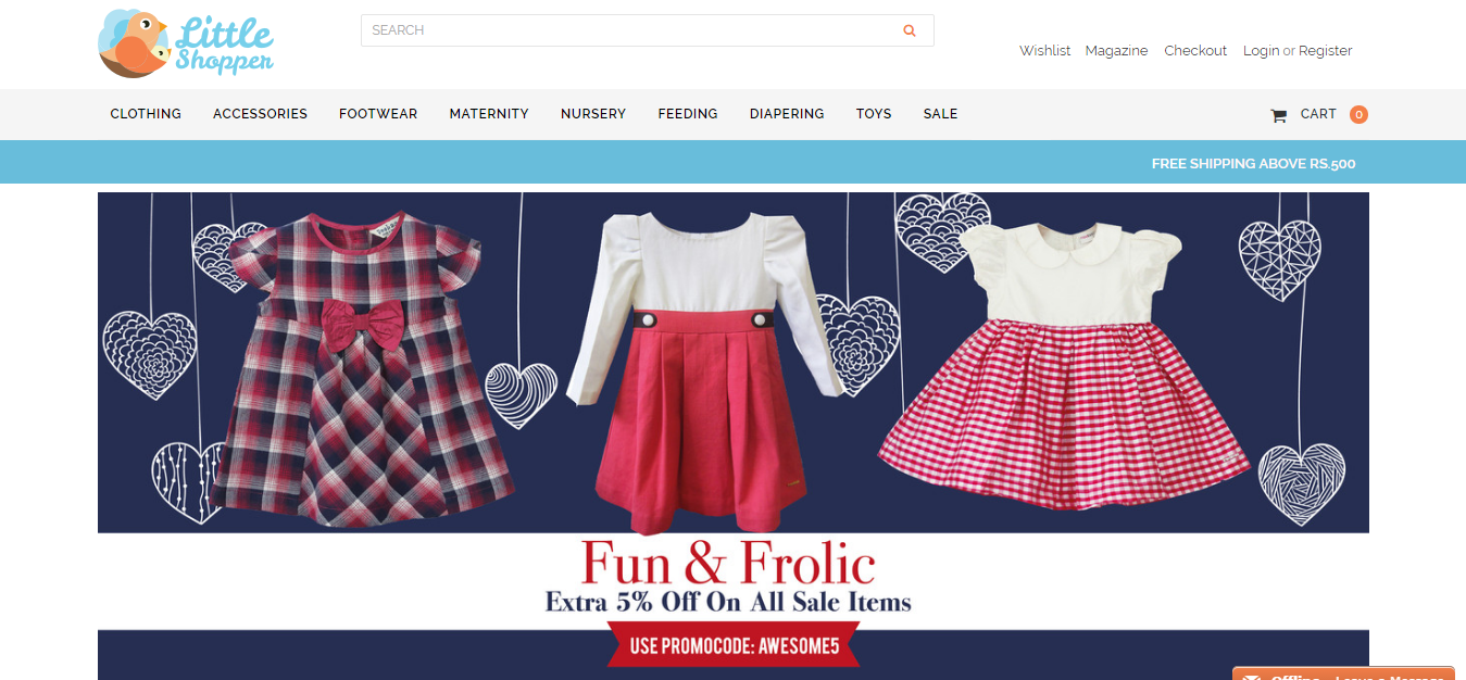 Review fashion online shop top 10 sites to buy clothes in for Cheap home shopping sites