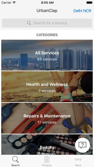 UrbanClap App Review; Lifestyle Services at a Clap!