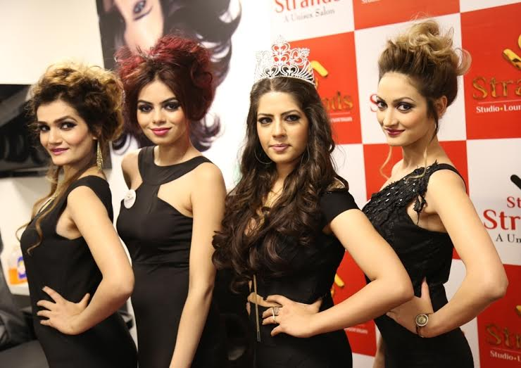 strands salon opens new outlet to showcase classic hairstyles and makeovers by experts