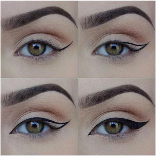 curvy wing for cat eye look