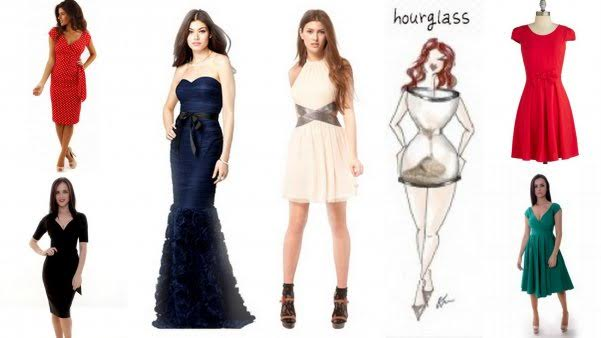 Dresses for hour glass body shape