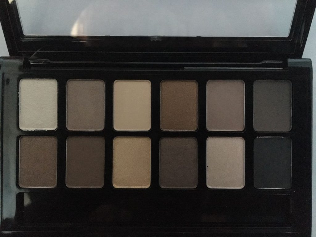 Maybelline The Nudes Eye Shadow Palette (without flash)