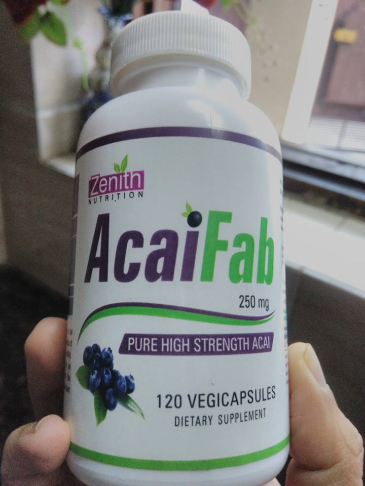 Acai Berry Benefits in Zenith Nutrition Acai Fab Capsules