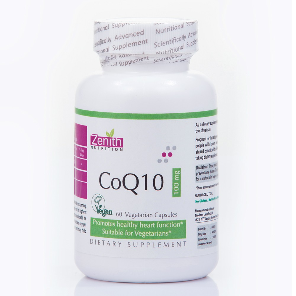 Zenith Nutrition CoQ10 Supplements to Improve Skin