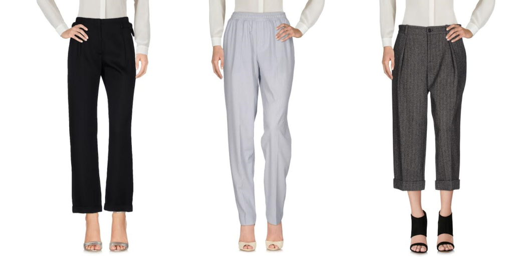Women's Office Wear goes Chic with Trendy Trousers