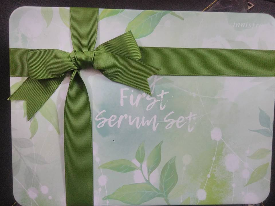 Innisfree Green Tea Seed Serum and Skincare Products Review