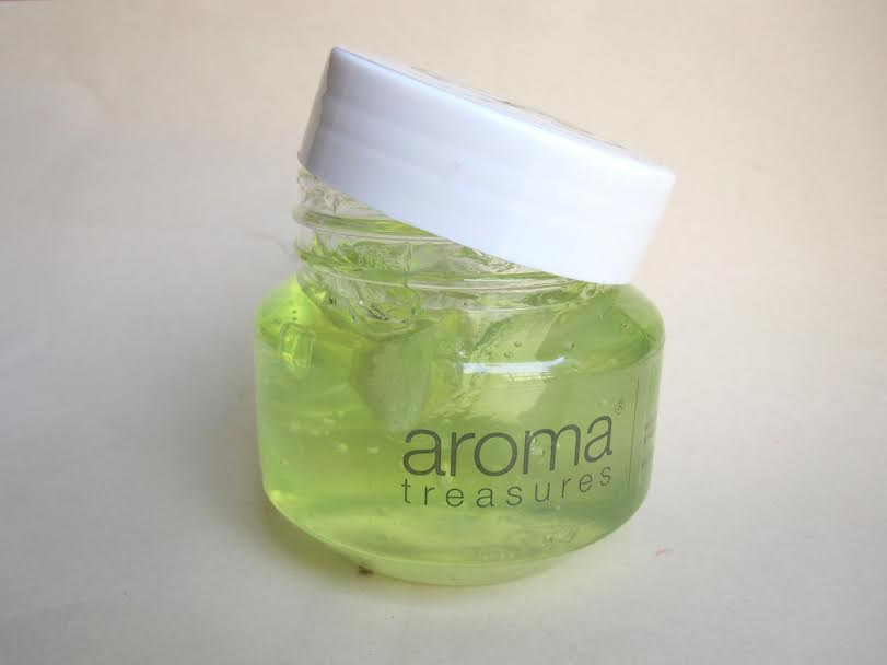 Aroma Treasures Aloe Vera Gel Review