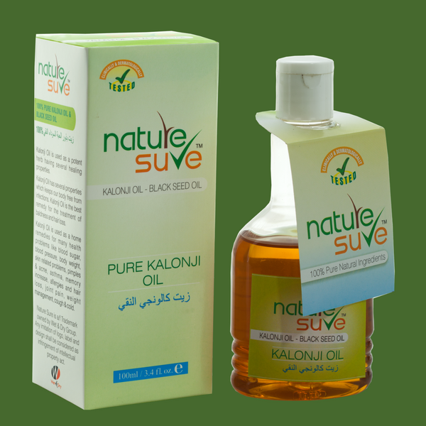 Nature Sure natural personal care products brand kalonji oil