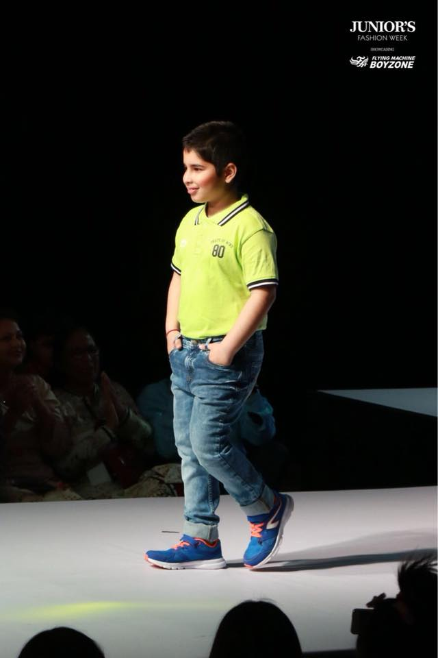 Vaibhav Junior Fashion Week Chandigarh