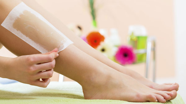 at home hair removal methods waxing