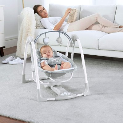 when can you start using a baby bouncer