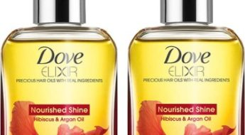 Dove Elixir Hibiscus and Argan Oil Review