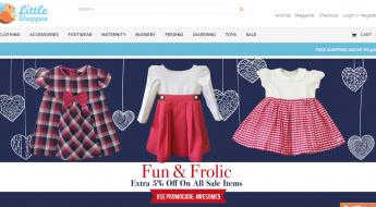 The Little Shopper Online Shopping Website Review