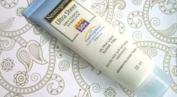 Neutrogena Ultra Sheer Dry-Touch Sun block SPF 50+ Review