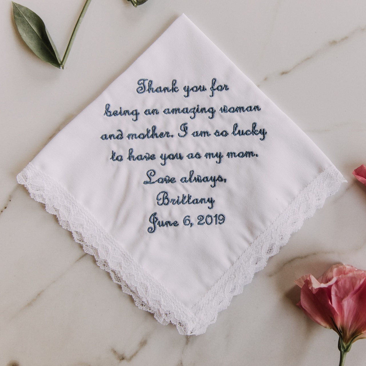 best personalized gift ideas hankerchief