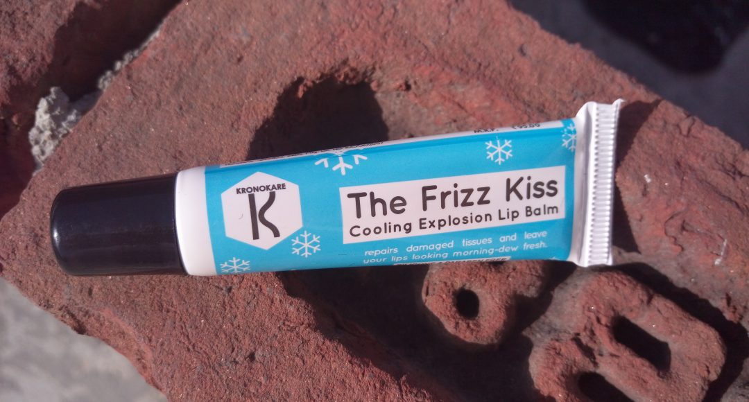 Kronokare The Frizz Kiss Cooling Extension lip Balm Review