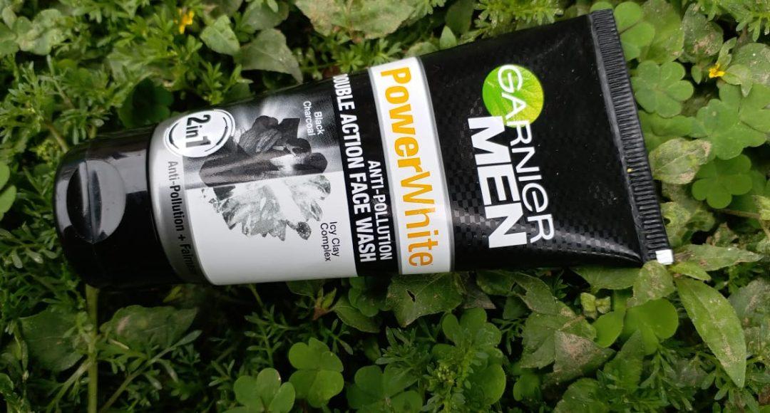 Garnier Men Power White Double Action Face Wash Review