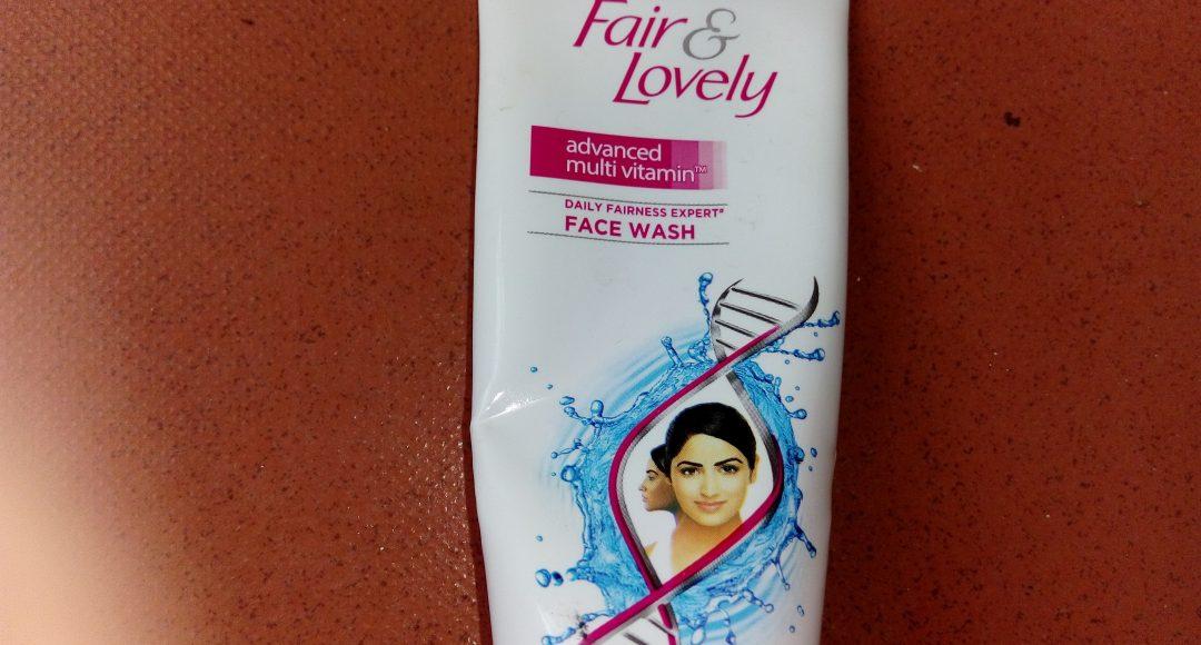 Fair and Lovely Advanced Multivitamin face wash